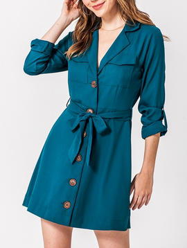 GCBLove Button Cargo Dress
