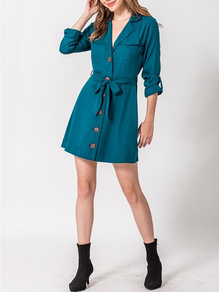 GCBLove Button Cargo Dress