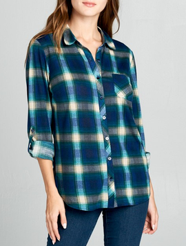 GCBLove Nashville Plaid Shirt