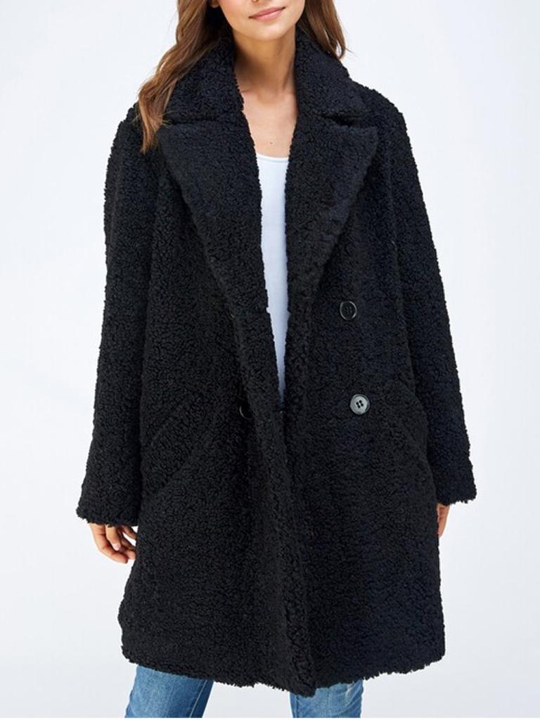 Blush Azalea Sherling Jacket