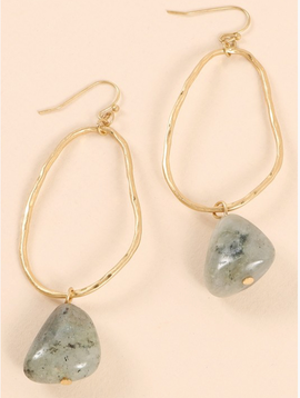 Avenue Zoe Stone Dangle Earrings