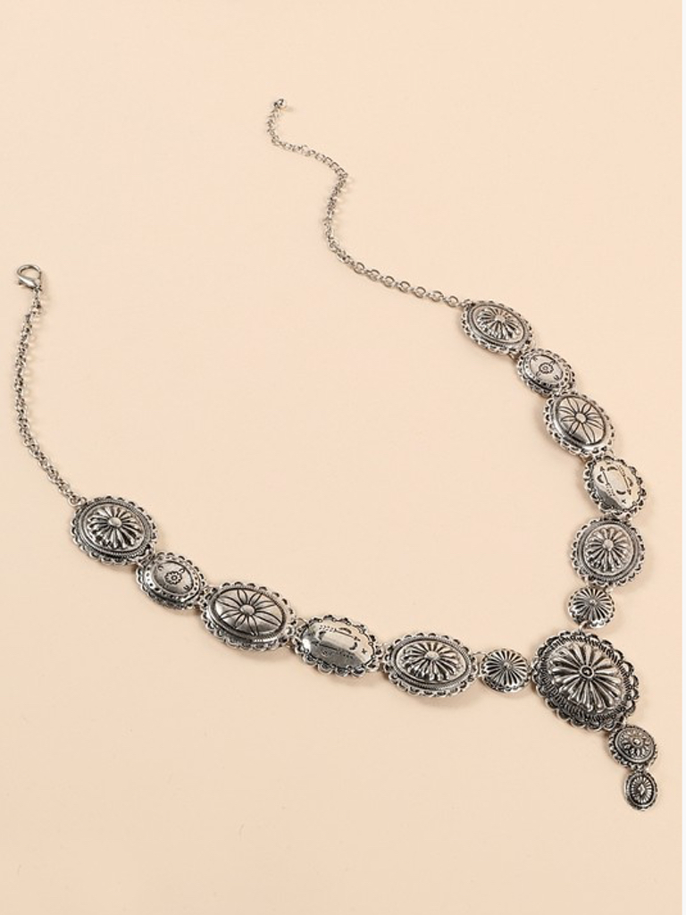 GCBLove Western Metal Necklace