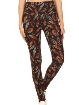 GCBLove Woodland Feathers Leggings