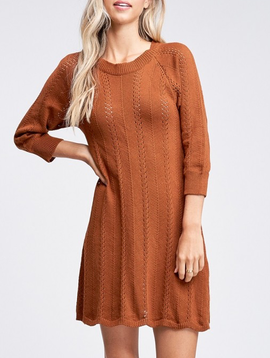 GCBLove Scalloped Sweater Dress