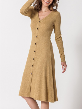 GCBLove Button Down Sweater Dress