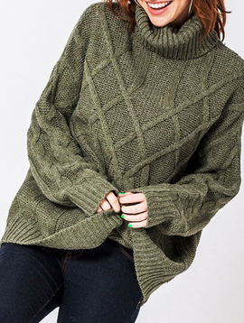 GCBLove Oversized Cable Sweater