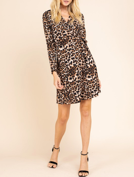 GCBLove Little Leopard Wrap Dress