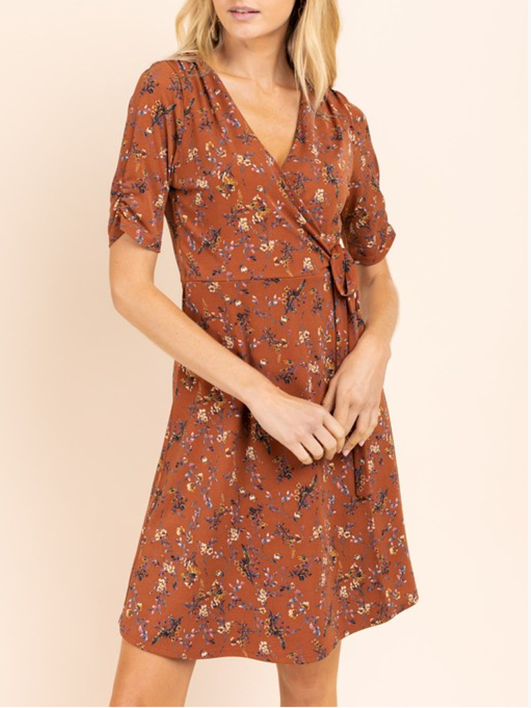 GCBLove Floral Pictoral Dress