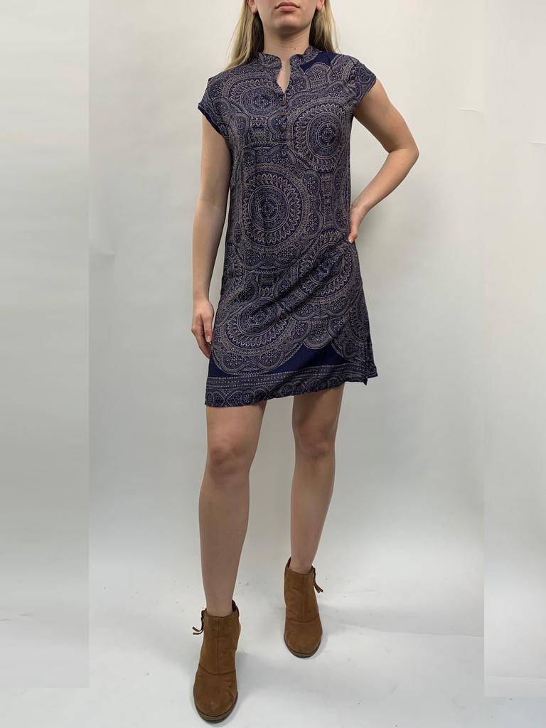 Zahara 3 Button Business Dress, India Dreams