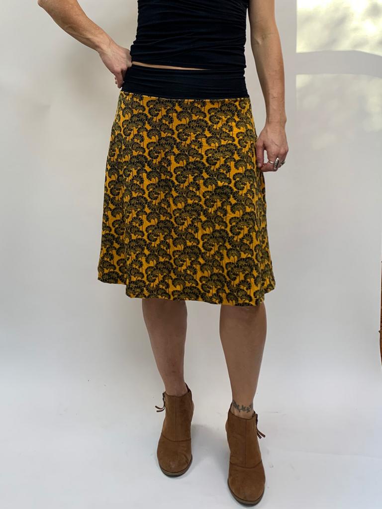 Zahara Band Skirt, Little Florets