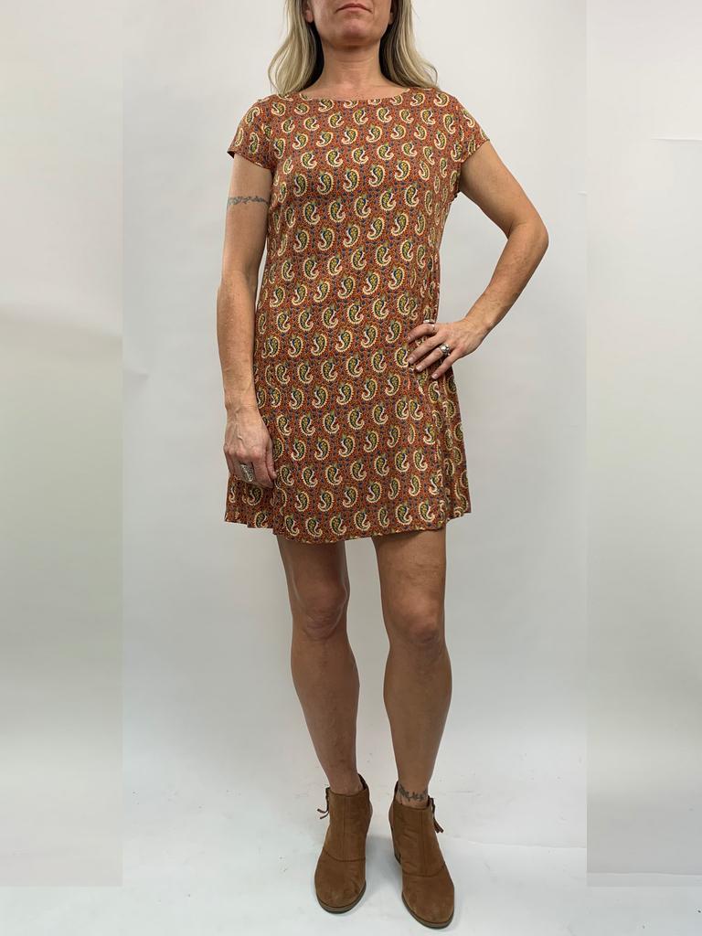 Zahara Getaway Dress, Little Paisley