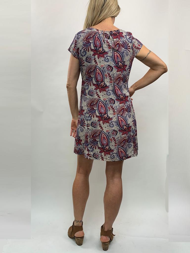 Zahara Getaway Dress, Wild Garden