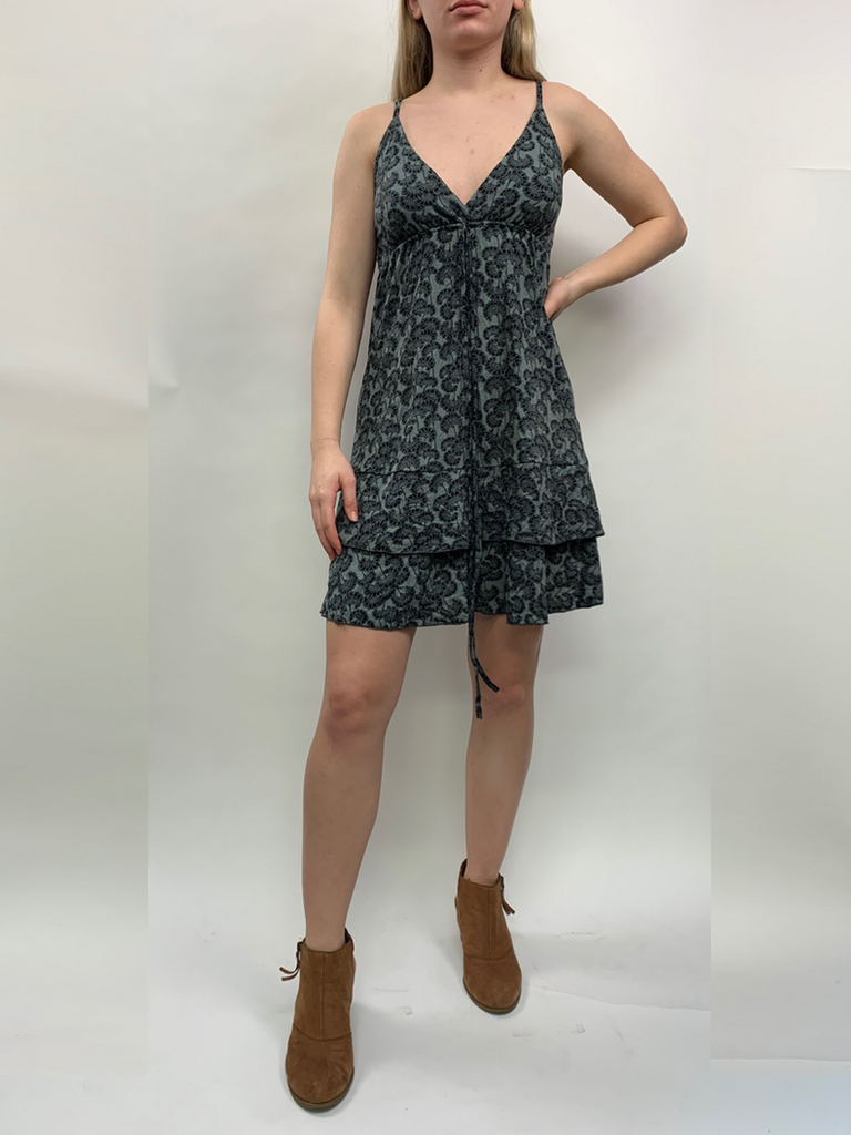 Zahara Ruffle Dress, Little Florets