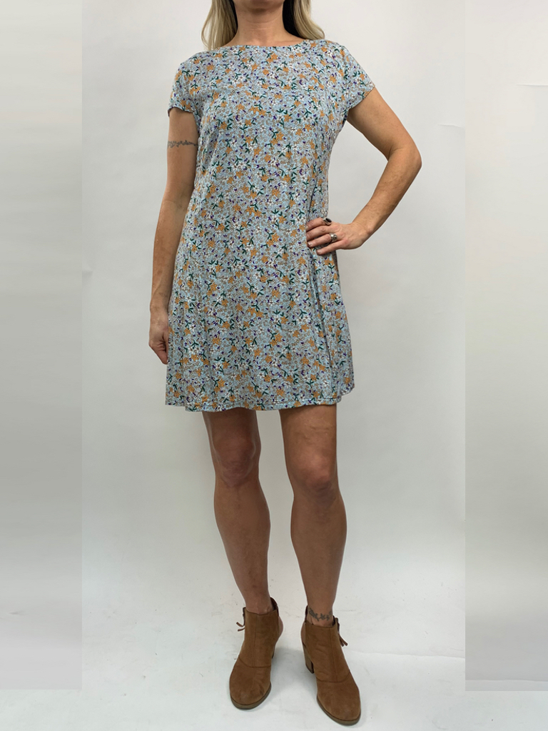 Zahara Getaway Dress, Flower Fields