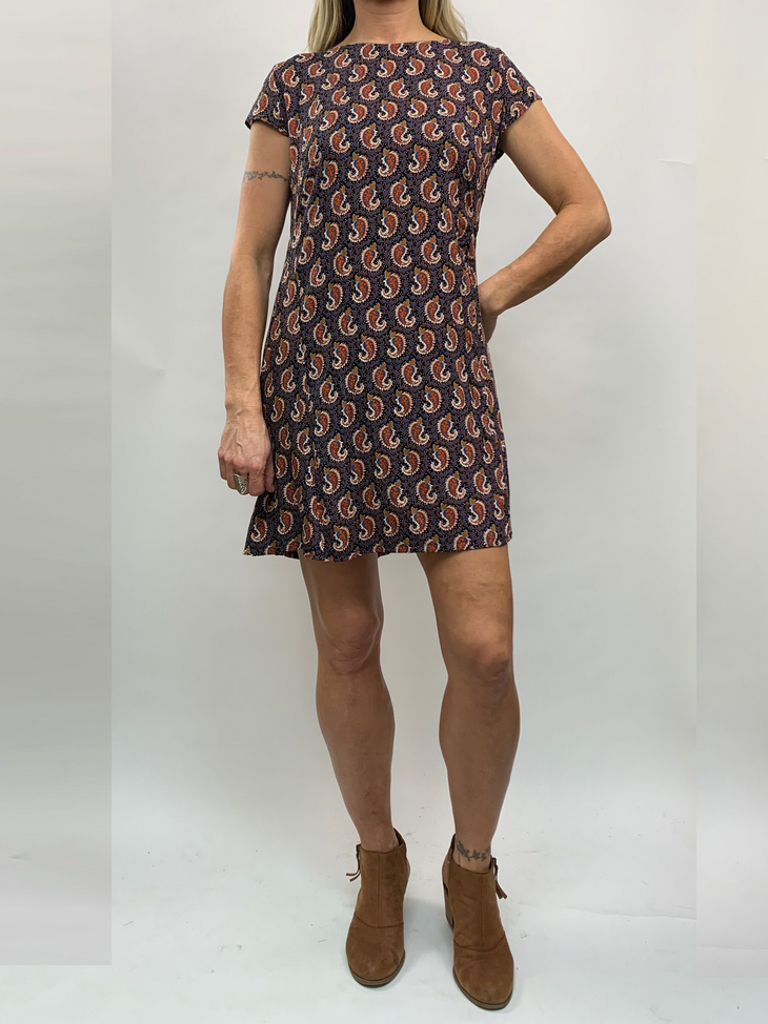 Zahara Getaway Dress, Little Paisley