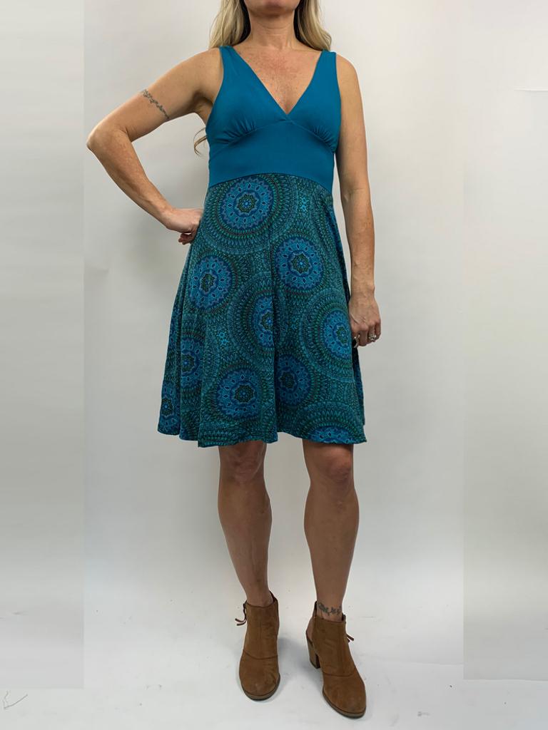 Zahara Tessa Dress, Mystic Circles