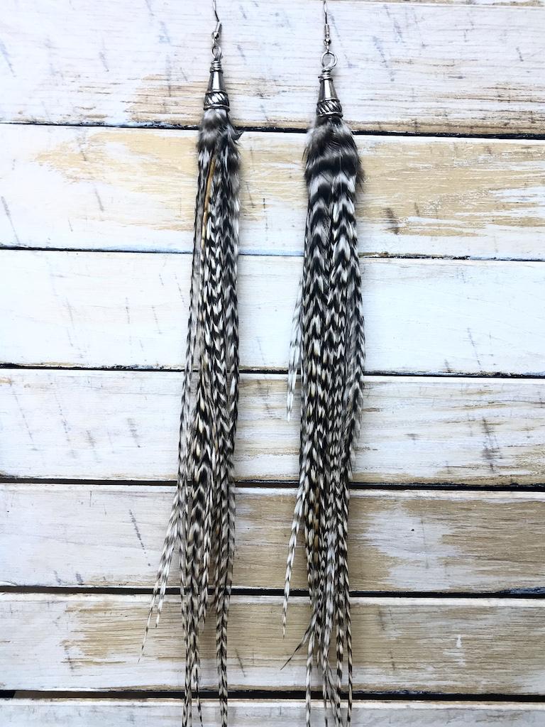 Bird Crap Zebra Feathers