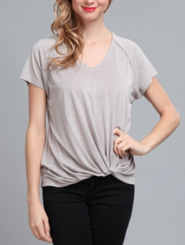 Anabelle Front Twist Tee