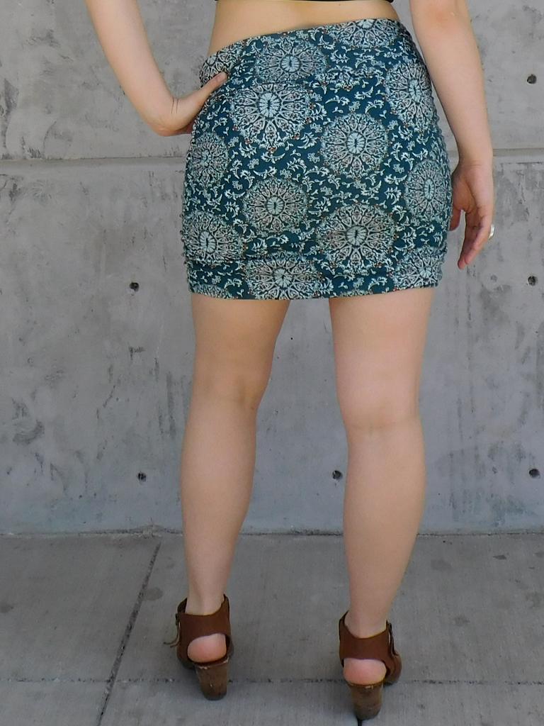 Gypsy Chic Bayla Skirt, Sanddollars