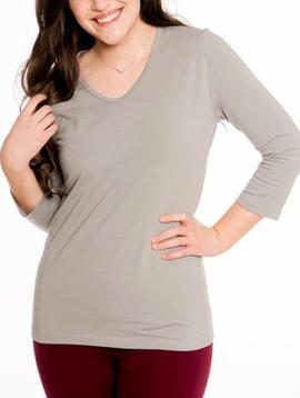 Heirloom Clothing Heirloom 3/4 V Neck Top