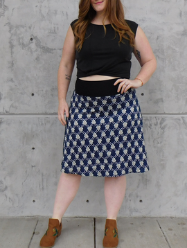 Gypsy Chic Band Skirt, Meadows