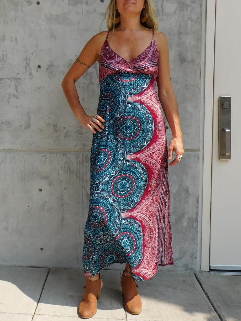 Gypsy Chic Sunset Slip Maxi, Arabian Nights