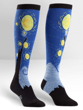 Sock it to Me Starry Night-Extra Stretch!