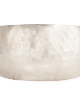 Essential Silver Hammered Cuff
