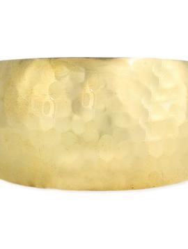 Zad Essential Gold Hammered Cuff