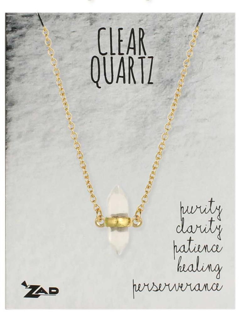 GCBLove Healing Clear Quart Necklace