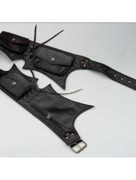 Jagged Cut Tribal Belt