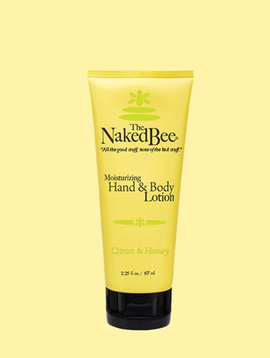 Naked Bee Citron and Honey Hand Lotion Small