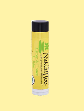 Naked Bee Citron and Honey Lip Balm