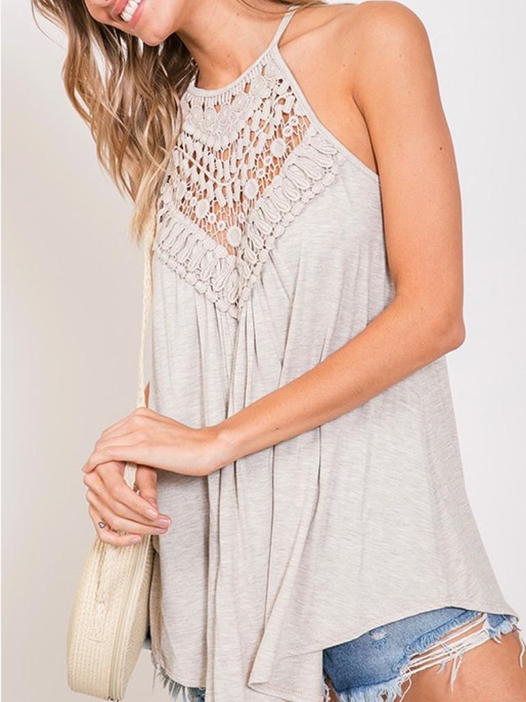 Sylvia Crochet Top