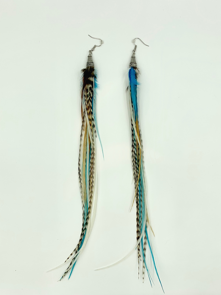 Bird Crap Oasis Streamer Earrings