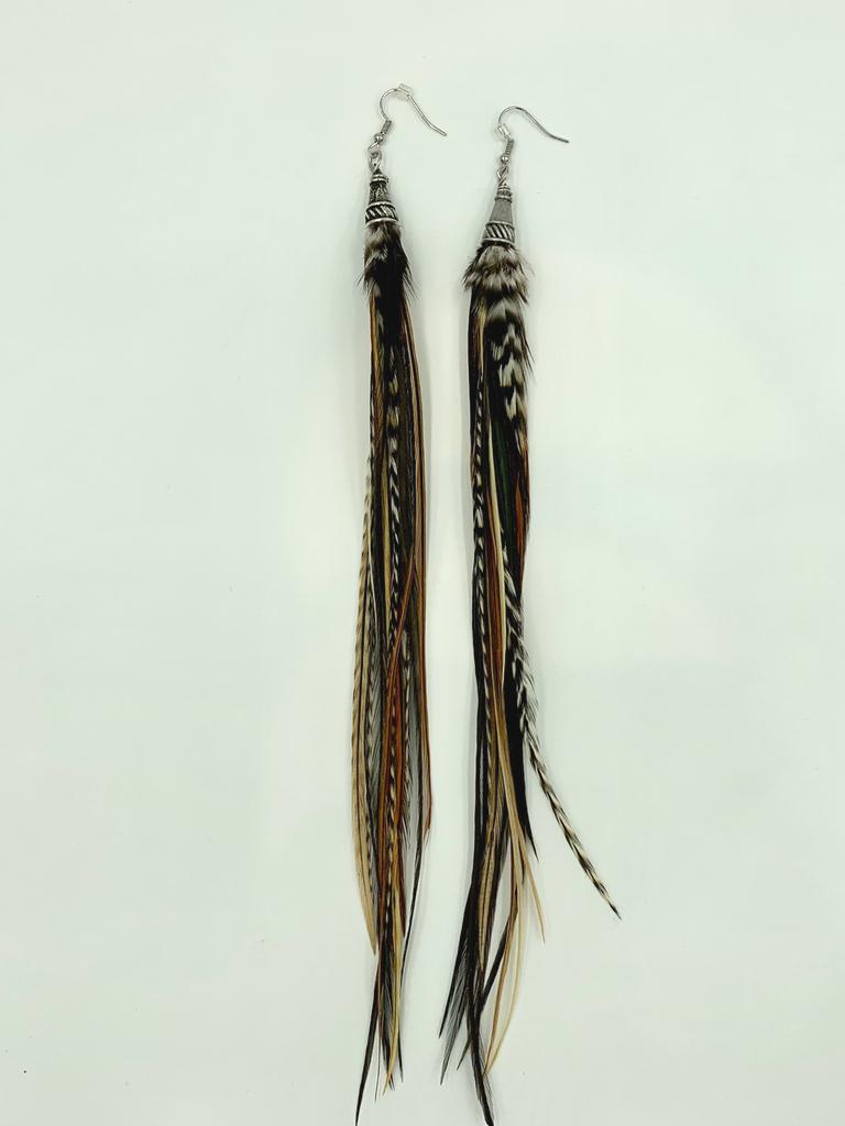 Earth Streamer Earrings