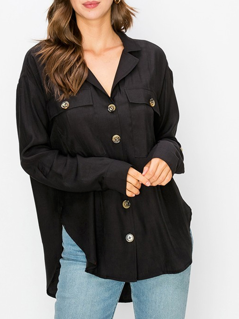 GCBLove Button Cargo Top