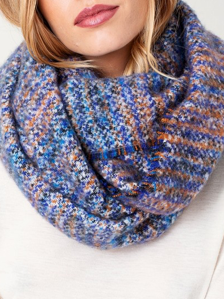 Knotted Yarn Scarf