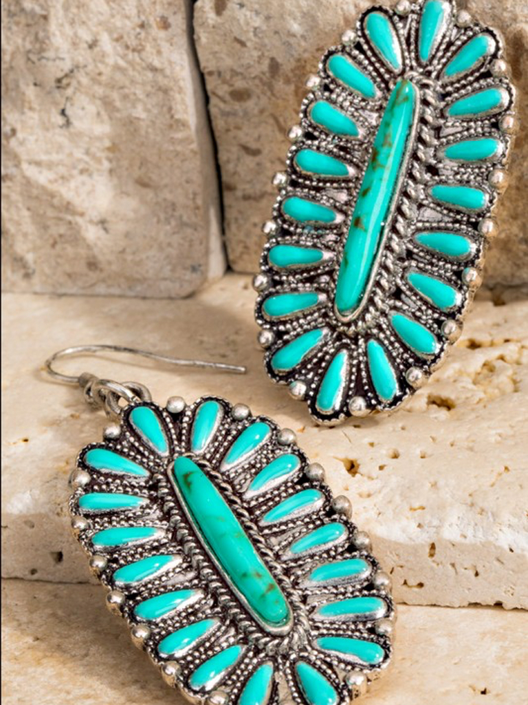 GCBLove Western Stone Earrings