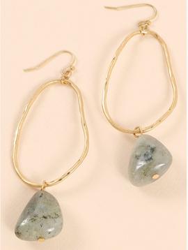 Avenue Zoe Stone Dangle Earrings