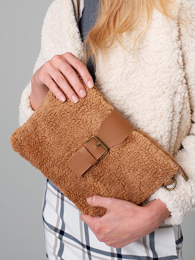 Avenue Zoe Teddy Crossbuckle Bag