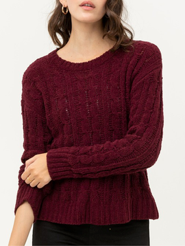 GCBLove Chunky Cable Knit Sweater