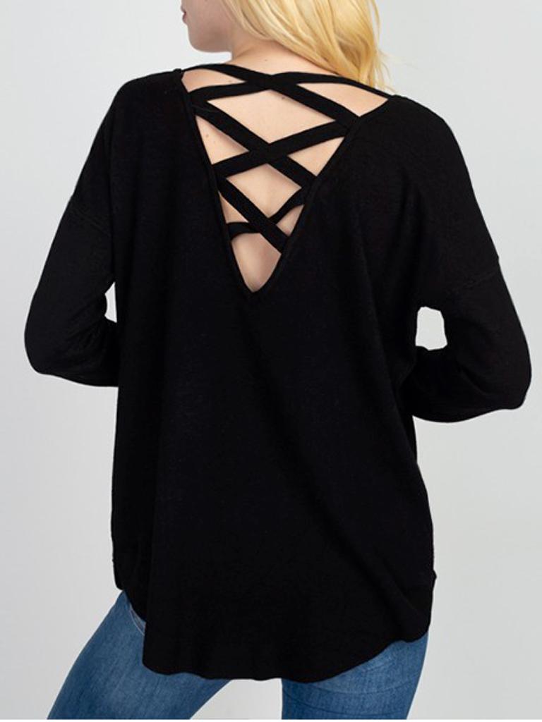 GCBLove Dreamy Lattice Sweater