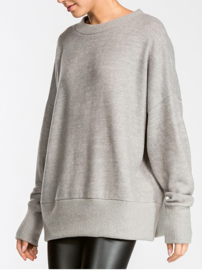 GCBLove Brushed Knit Pullover Sweater