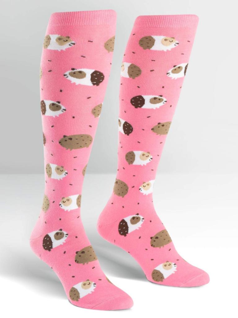 Sock it to Me Guinea Piggin' Around