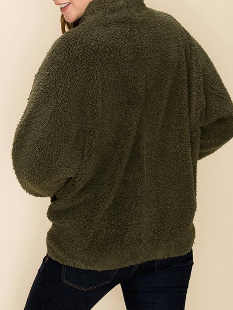 GCBLove Sherpa Dolman Coat