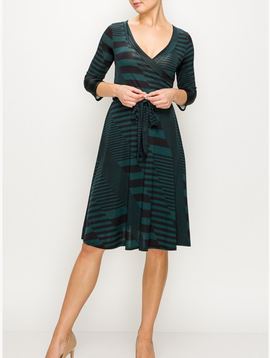 Janette All Lined Up Dress