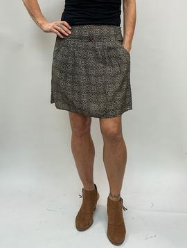 Zahara 3 Button Skirt, Eclipse