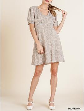 GCBLove Floral Microprint Dress