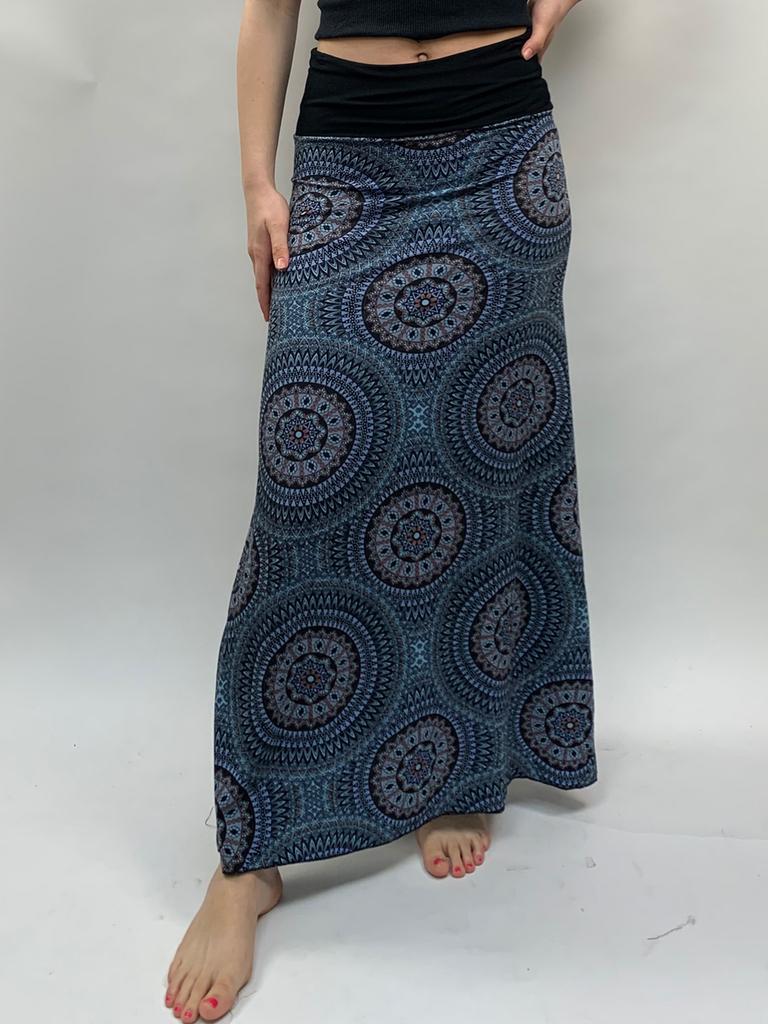 Zahara Thai Maxi Skirt, Mystic Circles
